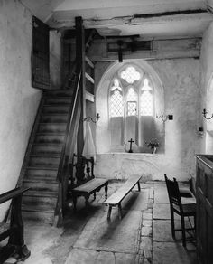 St Lawrence, Didmarton by Edwin Smith (photographer)