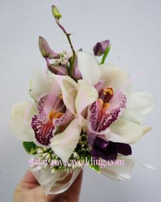 #Corsage idea: #orchid
