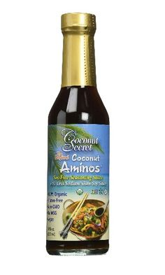 If you're sulfite free,  this is your soy sauce or braggs liquid amino alternative that is wholly sulfite free.