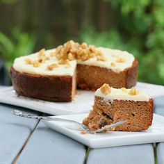 The Best Paleo Carrot Cake by Southern In Law