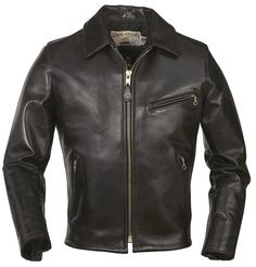 Schott - Horsehide Racer Motorcycle Jacket - Love the Brand and love the jacket. Perfect proportions and detailing...hmmm, when's my birthday again...K