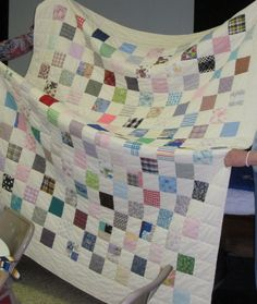 memory quilts from clothing | Deb Rowden's Thrift Shop Quilts: May 2012