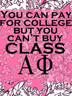 yesss! but Alpha Xi of course!