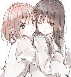 Madoka Magica #anime #yuri #shoujo-ai
