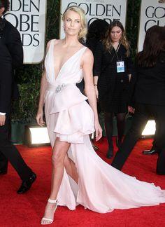 Charlize Theron- Golden Globes 2012 #winning