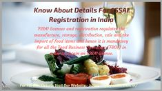 FSSAI Food License - FSSAI Registration is mandatory for every food business in India now by FSSAI. Get FSSAI Registration procedure and fee details here. Food License, Food Items, Beef, Website, Storage, Business, Meat, Purse Storage, Larger