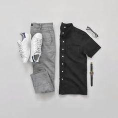 Just doesn't get old #JGGrids . Shirt: @closetbybasics Watch: @kanewatches Trousers: @bershkacollection . . . . . #vsco #vscocam #vscoph #vscophil #vscophile #vscophilippines #vscogood #vscogrid #blogger #bloggerph #style #fashion #mensfashion #aesthetics #minimal #minimalist #minimalism #manila #philippines #ootd #ootdmen #wiwt
