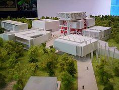 CR/ Estudio de Arquitectura.: Maqueta Museografica