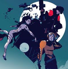 gregtocchini: LOW - cover B #comics #imagecomics #LOW #cover