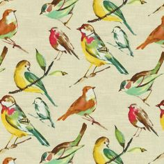 Oh yes, I bought this colorful print for my kitchen window treatments!!  Home Decor Print Fabric- Richloom Lisette Meadow at Joann.com
