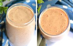 [Recipe] Apple Peanut Butter Chia Smoothie for Just 220 Calories - Drink Me Healthy Apple Smoothies, Healthy Smoothies, Healthy Fats, Smoothie Recipes, Healthy Eating, Apple Recipes, Diet Recipes, Bebidas Detox, Gluten Free Deserts