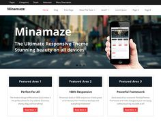 Minamaze WordPress Theme Free