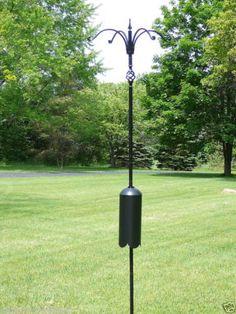 Erva-Decorative-4-Arm-Squirrel-Proof-Bird-Feeder-Pole