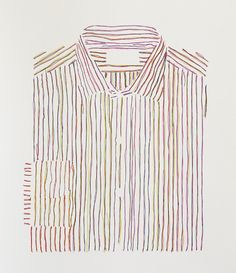 Hans Peter SundquistUniform, ink on paper, 2010