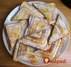 Sweet Recipes, Vegan Recipes, Cooking Recipes, Pro Cook, Good Food, Yummy Food, Czech Recipes, Baking With Kids, I Foods