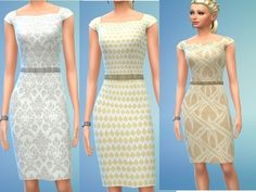 For your summer sims Found in TSR Category 'Sims 4 Female Clothing Sets' Sims 4 Dresses, Sims 4 Cc Finds, Female Clothing, Clothing Sets, Dresses For Work, Summer Dresses, Sims 4 Custom Content, Outfit Sets, Dress Collection