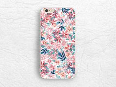 Watercolor Floral phone case for iPhone 6/6s, Samsung S6 S7, HTC One M9 M8, LG G4 g3, Nexus 5, Sony Xperia Z4 Z5, colorful flowers case -P69