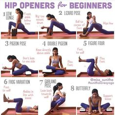 yoga - hip openers