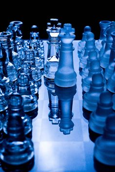 Blue Chess Set Different and Nice. Love Blue, Blue Green, Blue And White, Cobalt Blue, Cerulean, Image Bleu, Everything Is Blue, Aesthetic Colors, Dark Blue