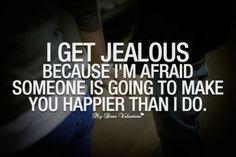 jealous boyfriend quotes - Google Search