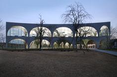 多摩美術大学図書館(写真:大橋富夫)