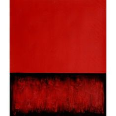 Rothko - Untitled (Red and Black) Reproductions Painting