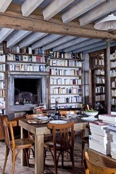 cottage library