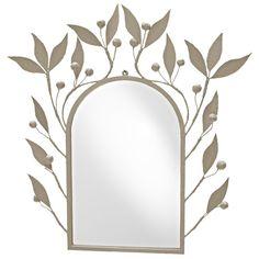 "KatKat mirror $535 other colors, too SKU: 24katkat Size: 34""h x 32 1/2"" l, mirror dimensions- 24""h x 16"" d"