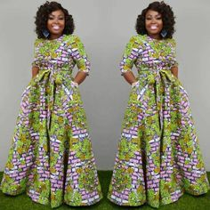 Amazing Ankara Gown Styles That Will Turn Heads This SummerLatest Ankara Styles and Aso Ebi Styles 2020 Trendy Ankara Styles, Ankara Dress Styles, Ankara Gowns, Ankara Maxi Dress, Dashiki Dress, African Fashion Ankara, Latest African Fashion Dresses, African Print Fashion, African Dresses For Women