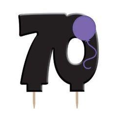 Birthday gift:70th Birthday Candle Pick