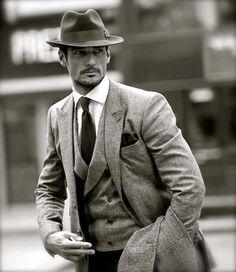 Entrevista a David James Gandy, modelo e icono gentleman   Vestirse por los pies