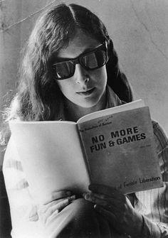 Ellen Willis, bad-ass feminist. c. 1970