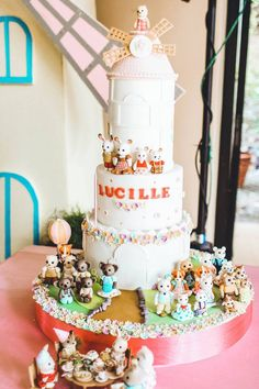 Sylvanian Toys inspired party