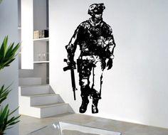 Call of Duty Modern Warfare 2 Vinyl Wall Art Decal by Tapong, $37.99