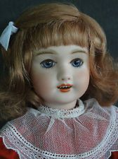BLEUETTE Reproduction porcelain doll. UNIS 301 Mold. Made in France by G. BRAVOT