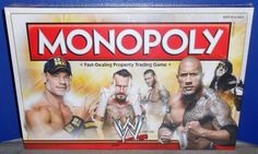 WWE: COLLECTOR'S EDITION MONOPOLY BOARD GAME BY HASBRO (BRAND NEW) #Hasbro