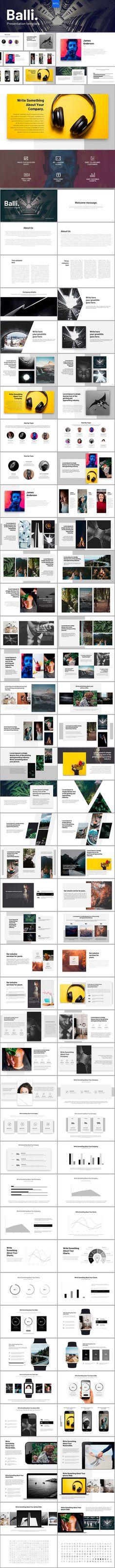 Balli Powerpoint Template - PowerPoint Templates Presentation Templates