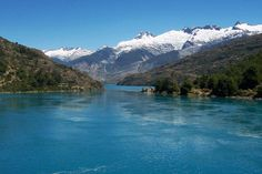 Rio Baker, south of Chile Rafting, Patagonia, Fly Fishing, Kayaking, Beautiful Places, River, Explore, Mountains, World