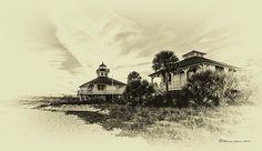 Lighthouse Boca Grande by Photographer Marvin Spates
