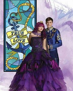 Disney Descendants Songs, Descendants Mal And Ben, Descendants Wicked World, Descendants Characters, Descendants Costumes, Disney Quiz, Disney Memes, Cameron Boyce, Movie Couples