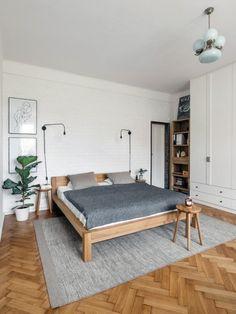 Rekonstrukce bytu 3+1 v Bubenči | Infinity Interiér Draw, Bed, Furniture, Home Decor, Home, Decoration Home, Stream Bed, Room Decor, To Draw