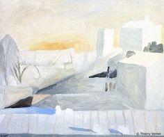 Galeries > Thierry Vernet > Paris > Toits de Belleville, matin d'hiver