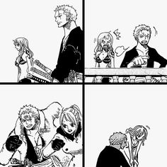 Zoro x Nami Zoro One Piece, One Piece Ship, One Piece Manga, Roronoa Zoro, Zoro Nami, One Piece Drawing, Monkey D Luffy, Anime Ships, Manga To Read