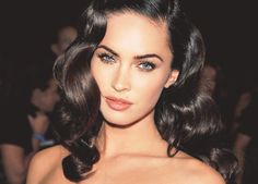 Megan Fox looking rather glamorous.