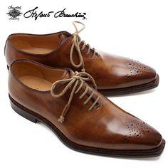 この靴いいですね~    【SALE】【2012SS】ステファノブランキーニホールカットレザーシューズ【CACAO】B4263  CACAO/STEFANO BRANCHINI【sb-m-shoes-biz-shoes】【楽天市場】