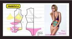 ModelistA: RECORTE Colorblock cut out swimsuit