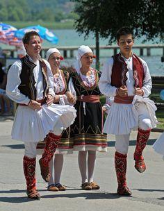 Ethnic Macedonian dance © marko gregoric