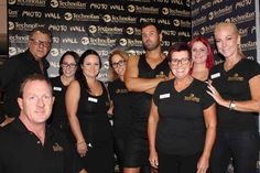 Us with the Techno Tan Crew at the Melbourne hair Salon Expo