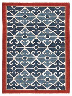 Tribal Pattern Handmade Flatweave