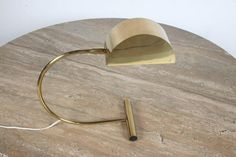 Koch and Lowy Brass Articulated Desk Lamp, OMI 2